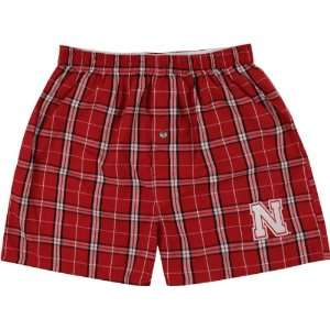 com Nebraska Cornhuskers Mens Elite Boxer Shorts Sports & Outdoors