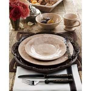 Caff Ceramiche Four Crest SoupPasta Bowls Kitchen & Dining