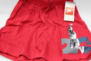23 Red Light Grey Frost White Vintage OG Shorts Retro Size L
