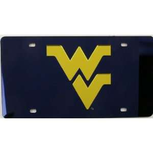 West Virginia Mountaineers License Plate Laser Tag Sports