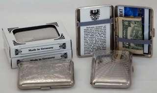 Metal Wallet, Card Case, Cigarette Case German Made