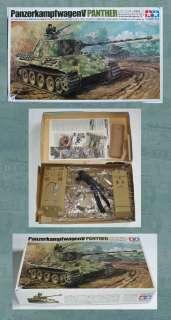 VINTAGE TAMIYA MOKEI PANTHER 1/35 (MOTORIZED REMOTE CONTROL)