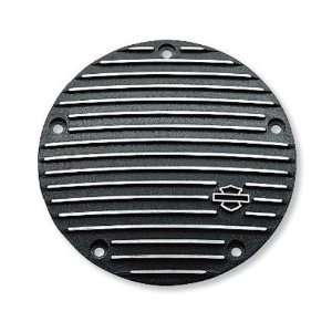 Davidson Black Fin Derby Cover 25454 01 EVO Twin Cam Automotive