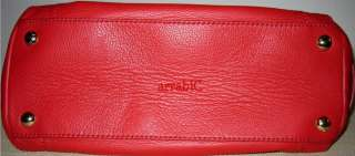 AUTHENTIC Michael Kors Gansevoort Large Red Leather NWOT