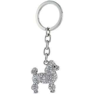 Dog Puppy Key Chain, Key Ring, Key Holder, Key Tag , Key Fob, w
