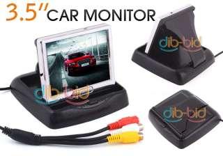 TFT LCD Rear View Color Camera Car Monitor & DVD