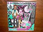 New Monster High Draculaura Pet Bat Keychain
