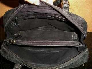 LEATHER SATCHELL SHOULDER BAG TOTE ZIP SAC EVENING PURSE HANDBAG