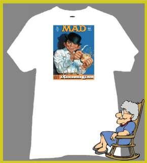ALFRED E NEUMAN T Shirt CROCKWORK LEMON PARODY DROOG