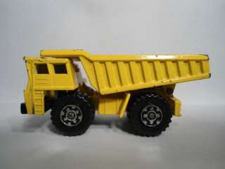 1976 Matchbox Faun Dump Truck Loose MB58 D Yellow
