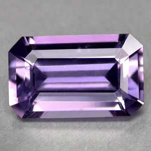 25CTS SPLENDID EMERALD CUT NATURAL CERTIFIED PURPLE SCAPOLITE