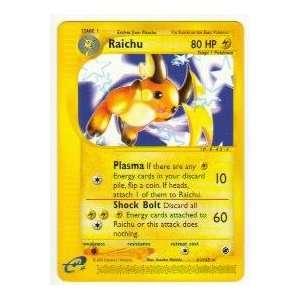 2002 Pokemon Expedition Rare Raichu #61/165: Everything Else