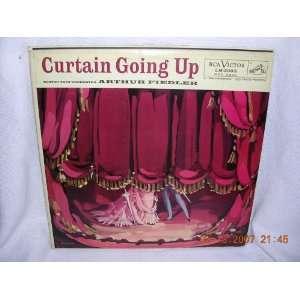 CURTAIN GOING UP ARTHUR FIEDLER   BOSTON POPS ORCHESTRA Music