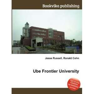 Ube Fronier Universiy Ronald Cohn Jesse Russell  Books