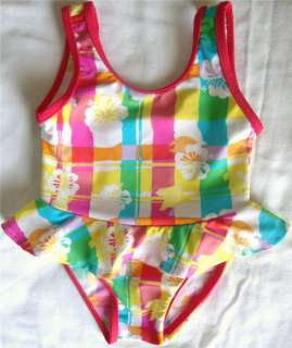 BABY GIRL TODDLER 1PC SWIMWEAR SWIM SUIT BATHING SUIT CLOTHES 12 18 24