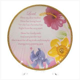 MOM PRAYER PLAQUE PLATE STAND MOTHERS DAY GIFT MOTHER