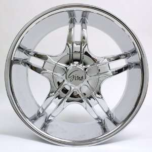 20 Inch Gino Chrome Wheel Rim #498 Automotive