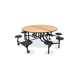 HONRS2960DD91P HON Company Round Table, w/ Stools, 60x29