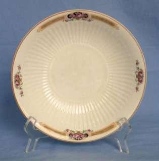 VTG 1925 SEBRING Ivory Porcelain Rose Urn Serving Bowl