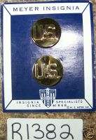 US Army Enlisted Branch of Service Collar Device PR1382 |