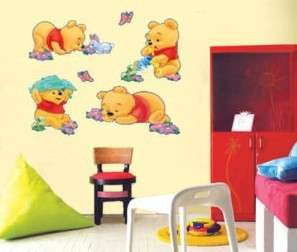 Winnie The Pooh Art Decor Wall Paper Sticker Decal 106