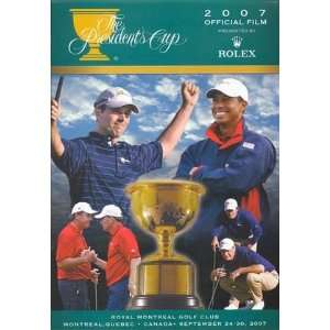 2007 Presidents Cup Dvd