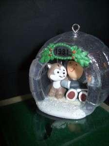 Hallmark 1981 Frosty Friends Series Ornament #2 NICE