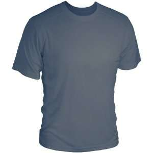Medium Helix Mens Short Sleeve T Shirt   Smoke