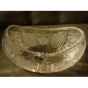 POLONIA 24% Lead Crystal Bowl: Home & Kitchen