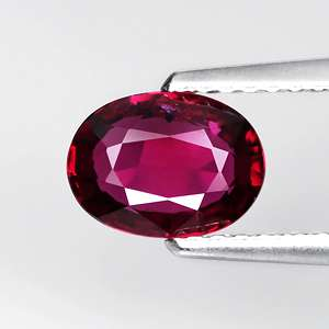 NATURAL UNHEATED 1UNTREATED 1.13ct Oval Pigeon Blood RED RUBY AFIRICA