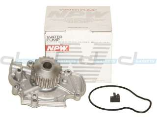 90 97 Honda Accord Isuzu Oasis 2.2L F22A F22B Timing Belt Water Pump