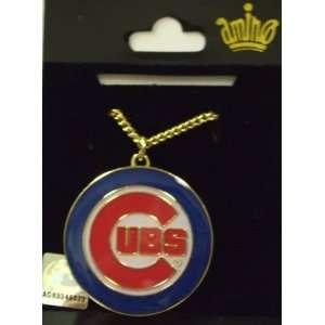 Chicago Cubs MLB Team Pendant with 18  Chain Sports