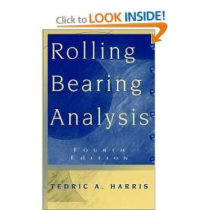 Rolling Bearing Analysis, 4th Edition (9780471354574