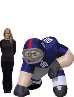 New York Giants NFL 5 Inflatable Bubba Player Blow Up Lawn Figure