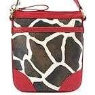 Designer Inspired Giraffe Handbag Purse Tote Fashion