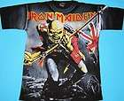 Iron Maiden   Fear of the Dark T shirt L All Over NEW