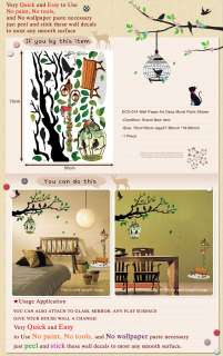 ECO 014 BRANCH PEEL & STICK DECO DECOR MURAL STICKER