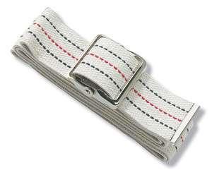 Medline Patient Transfer Gait Belt 60 Pinstripe