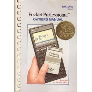 Pocket Professional Owners Manual (HP 48SX) Pocketpro Books