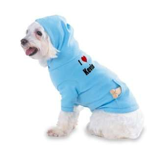 I Love/Heart Kevin Hooded (Hoody) T Shirt with pocket for
