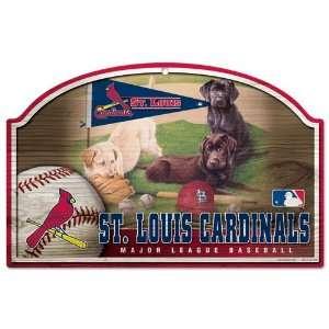 St. Louis Cardinals 11x17 Wood Sign Jim Killen Art