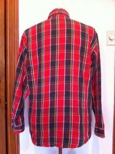 VINTAGE BIG MAC PLAID FLANNEL SHIRT MENS LARGE MINT!