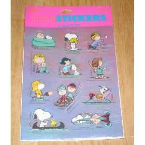 Hallmark Peanuts Gang & Snoopy Package 4 sheets Outdoor