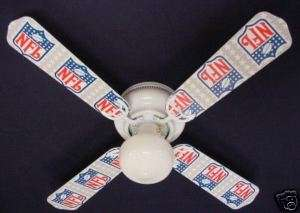 New NFL NATIONAL FOOTBALL LEAGUE Ceiling Fan 42