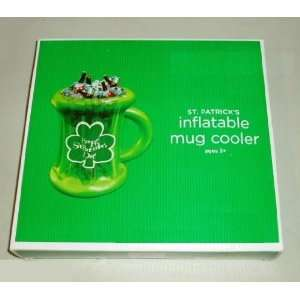 St Patricks Day Irish Shamrock Mug Cooler Home & Kitchen
