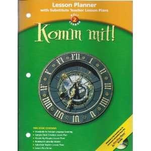 Lesson Planner Komm Mit! LV 2 2003 (9780030658877) Holt