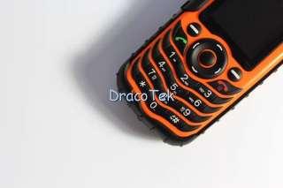 Fortis A88 Orange   Rugged IP67 grade Waterproof dual SIM outdoor cell