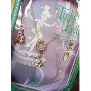 Disney Couture Tinkerbell Lim. Ed. Charm Necklace