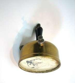 Vintage Dual Fuel Gas Coleman Lamp Fount