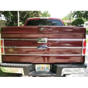 : Ford F 150 F150 Chrome Tailgate Trim Kit 09 12 10 11 2009 2010 2011